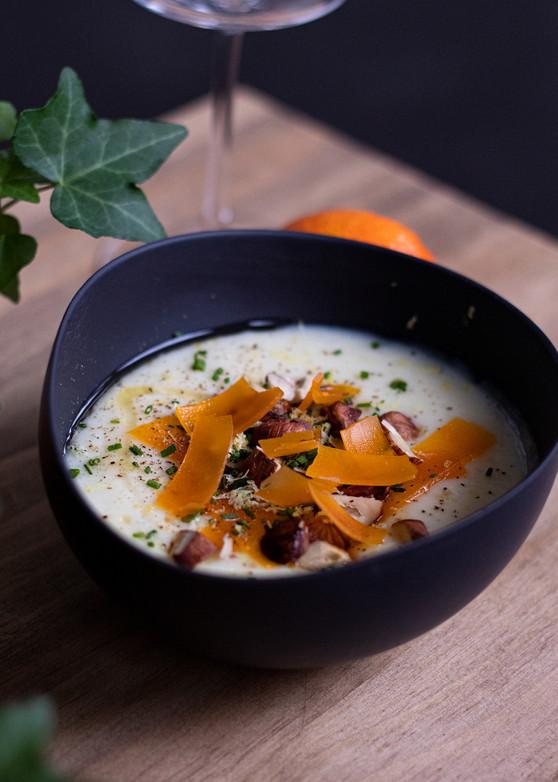 Atelier culinaire • Velouté de panais & Mimolette