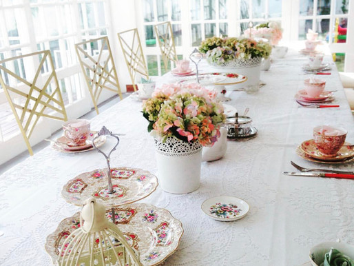 How to plan a Bridal Shower Tea Party