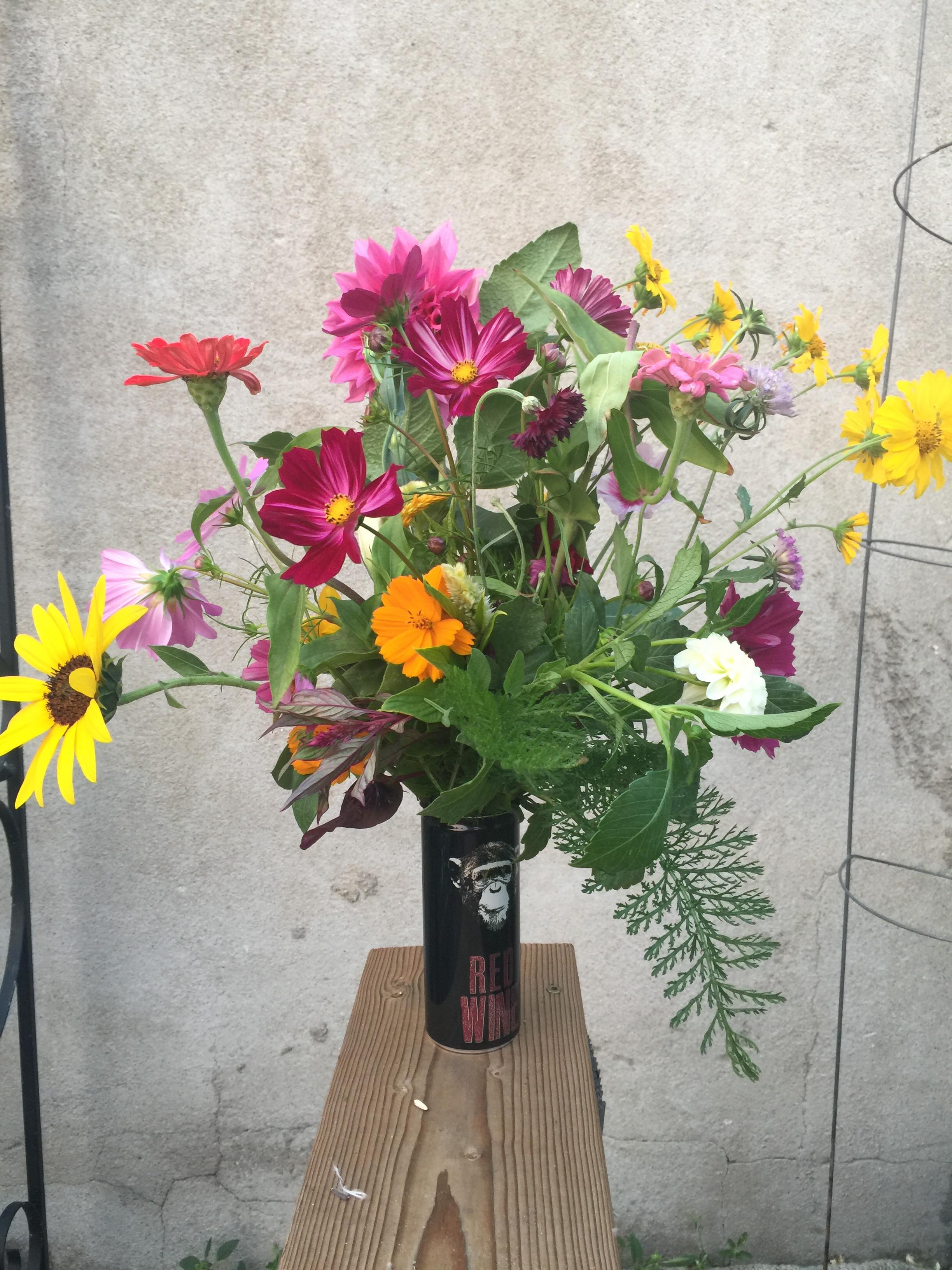 Cut your own Bouquet