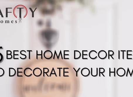Top 5 Home Decor Items to Give Your Homes a Complete Makeover