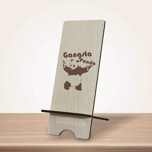 Gangsta Panda mobile stand