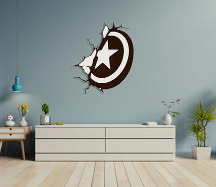 Captain America Shield Wall Hanging