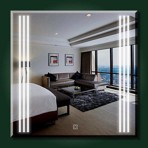 6 Striped Led Mirror