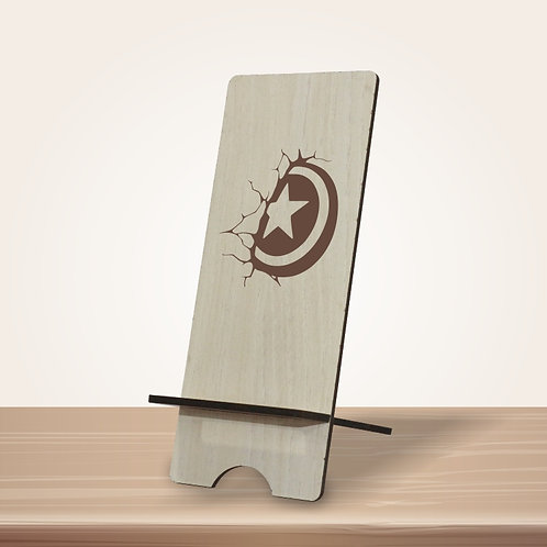 Shield mobile stand