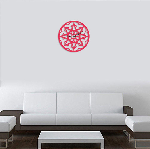 Rangoli Wall Clock