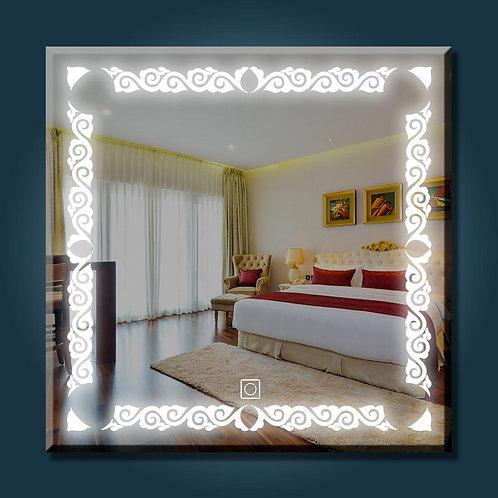 Pattern Led Mirror