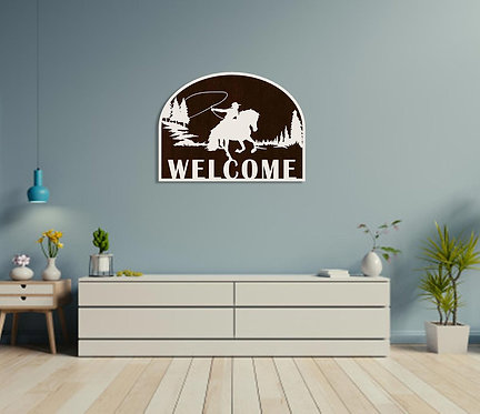 Howdy Welcome Wall Hanging