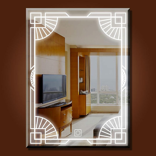 pharaoh Style Touch Led Mirror
