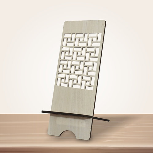 Brick Pattern Mobile Stand