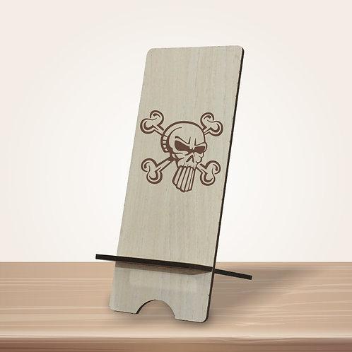 Skull mobile stand