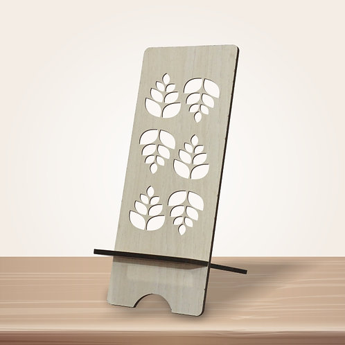 Oak Leaves Mobile Stand