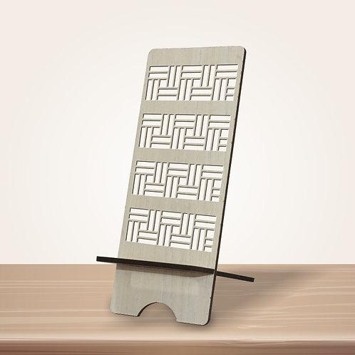 Brick Pattern Mobile Stand
