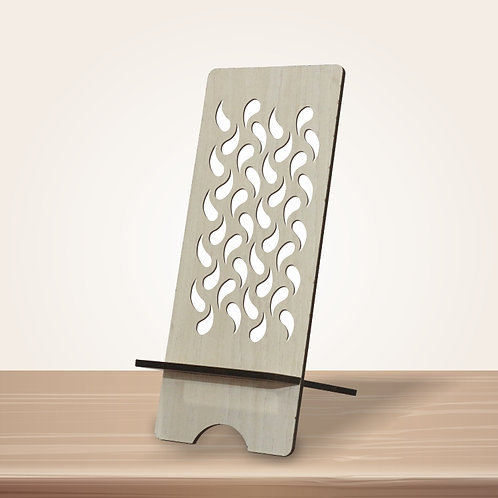 Patterned Mobile Stand