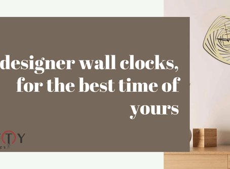 5 best designer wall clock online, for the best time of yours