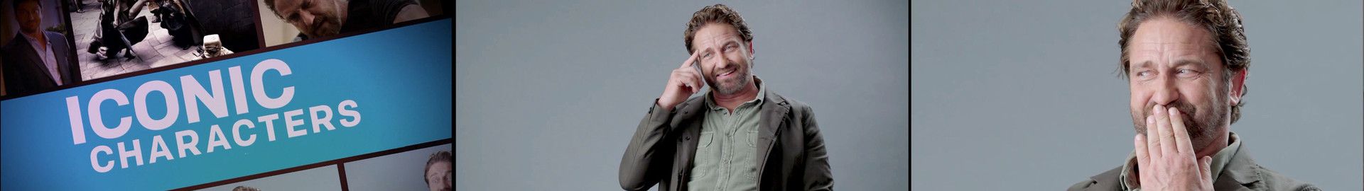 Gerard Butler Breaks Down His Most Iconic Characters   GQ