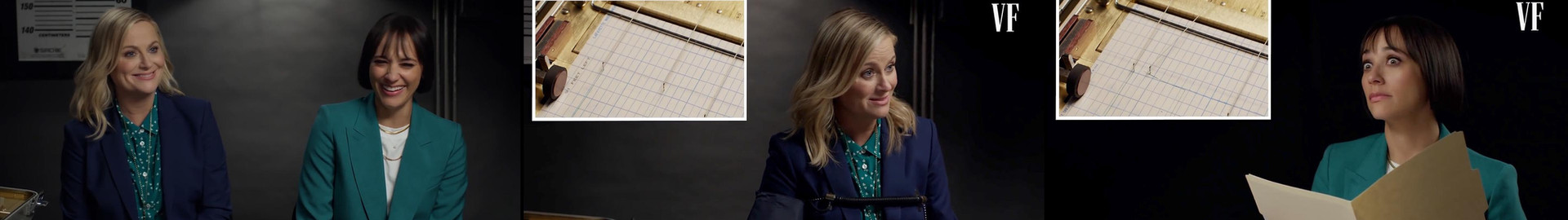 Amy Poehler & Rashida Jones Take a Lie Detector Test   Vanity Fair