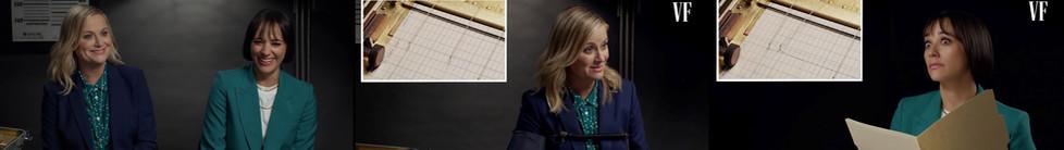 Amy Poehler & Rashida Jones Take a Lie Detector Test | Vanity Fair
