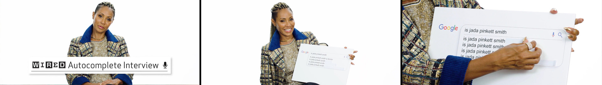 Jada Pinkett Smith Answers the Web's Most Searched Questions | WIRED