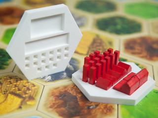 Catan Player Piece Dock