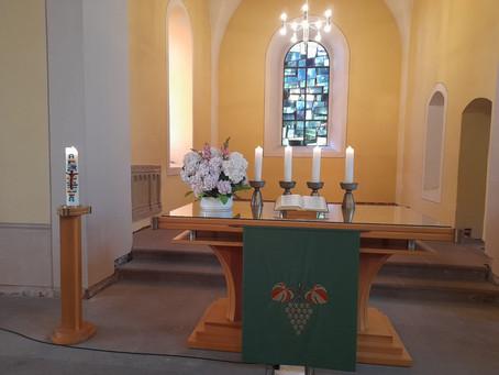 Gottesdienst am 6. Sonntag nach Trinitatis, 11.07.2021