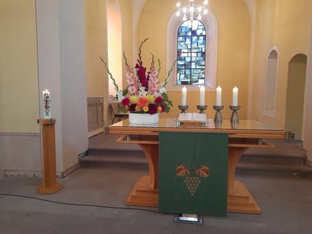 Gottesdienst am 14. Sonntag nach Trinitatis, 5.09.2021
