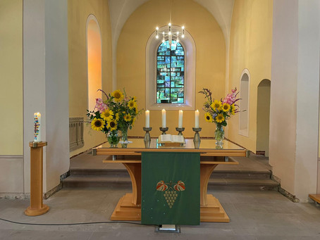 Gottesdienst am 9. Sonntag nach Trinitatis, 01.08.2021