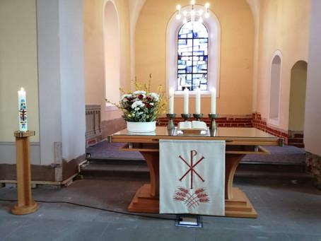 Gottesdienst zum Sonntag Quasimodogeniti, den 11.4.2021