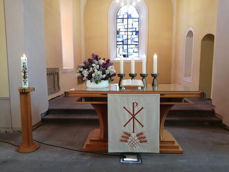 Gottesdienst an Rogate, 09.05.2021