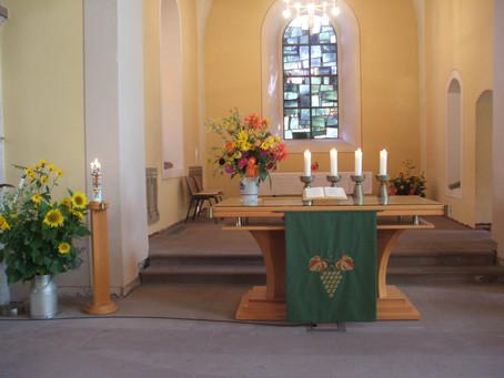Gottesdienst an Erntedank, 03.10.2021 in Lichtenau
