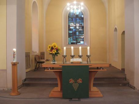 Gottesdienst am 10. Sonntag nach Trinitatis, 08.08.2021