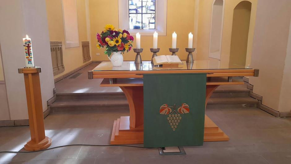 Gottesdienst am 21. Sonntag nach Trinitatis, den 24.10.2021 in Lichtenau