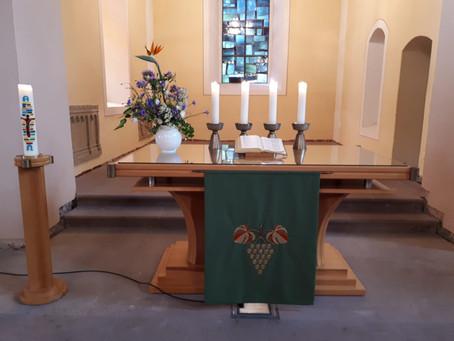 Gottesdienst am 1. Sonntag nach Trinitatis, 6.06.2021