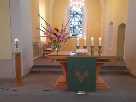Ferien-Gottesdienst am 11. Sonntag nach Trinitatis, 15.08.2021
