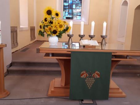 Gottesdienst mit Taufe am 8. Sonntag nach Trinitatis, 25.07.2021