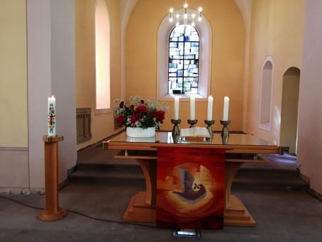 Gottesdienst an Pfingstmontag, 24.05.2021