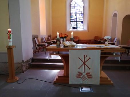 Gottesdienst am Gründonners-tag mit Abendmahl, 1.4.2021