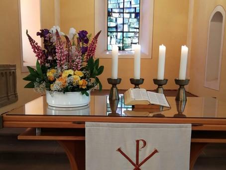 Gottesdienst an Trinitatis, 30.05.2021