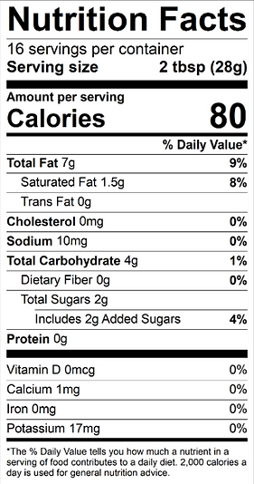 Light Sauce 16oz Nutrition Facts.png