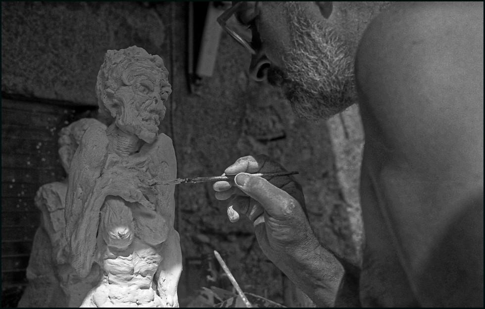 . Jacques Giraud  . 1943 / 1996 . Artiste peintre . 1995 .
