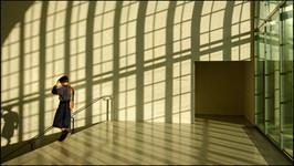 . Fin de journée au musée de Lausanne .