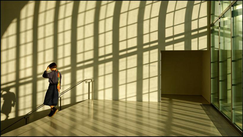 Fin d'après-midi au Musée cantonal des Beaux-Arts de Lausanne .
