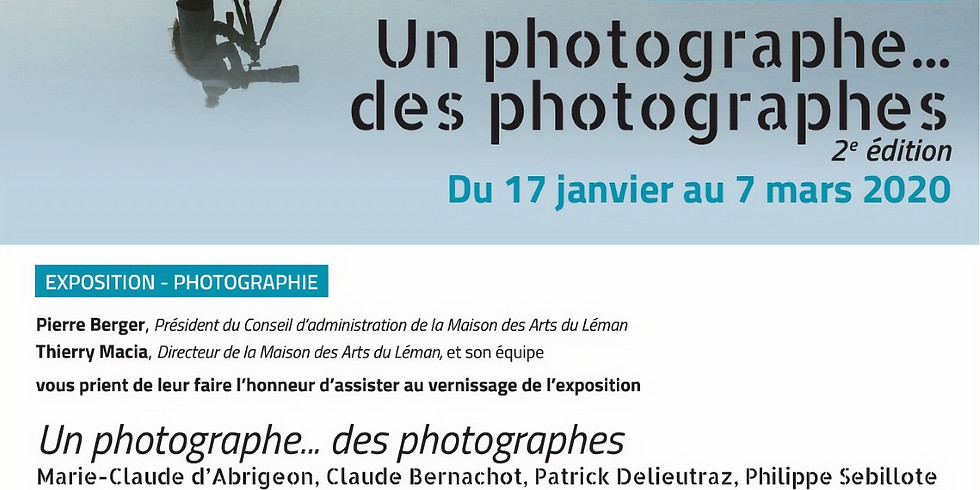 Un photographe… Des photographes