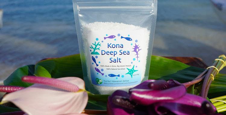 Kona Deep Sea Salt : 6oz-170g