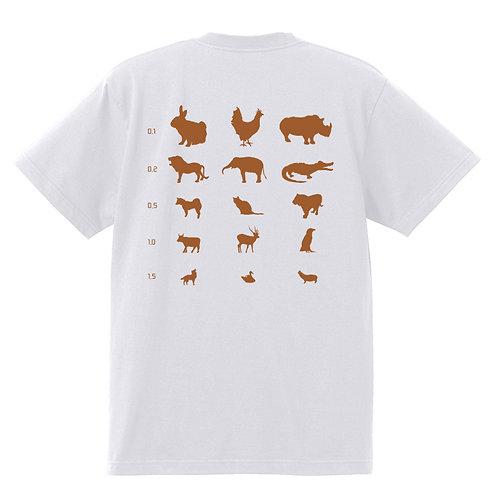 [OMOROTOY.Lab]Vision test Back Print T-shirt