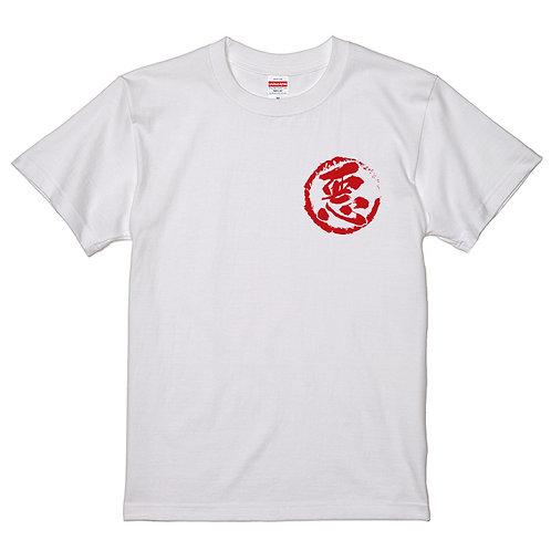 [長原成樹さん]なんば悪役組合ドクロT-shirt-white
