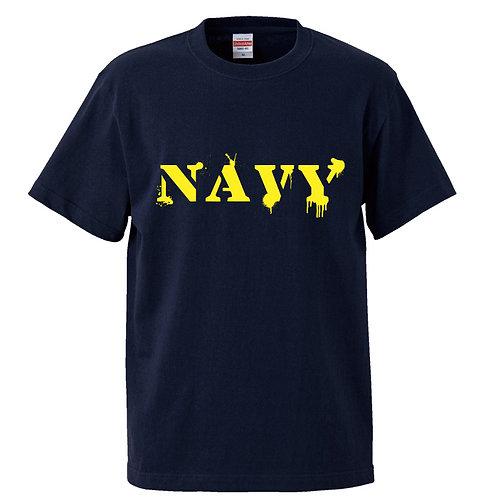 [OMOROTOY.Lab]NAVY-Tシャツ-NAVY