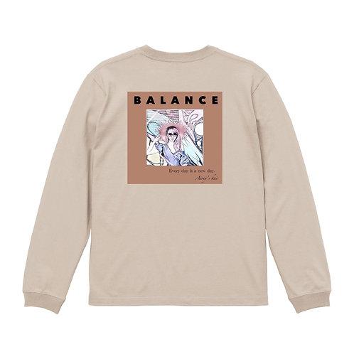 AILEE- 「BALANCE」ロングTシャツ