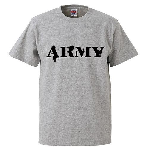 [OMOROTOY.Lab]ARMYTシャツ-GRAY