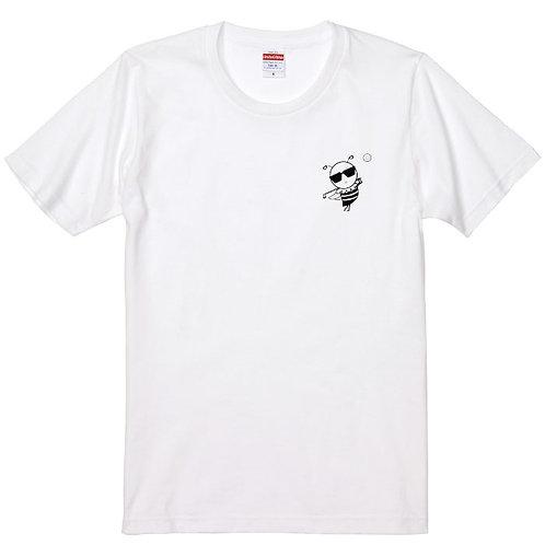 【LAVIEL】ミツパチーノゴルフTシャツ-2