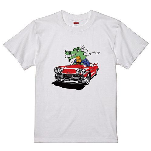 [長原成樹さん]巨匠ワニ車 T-shirt